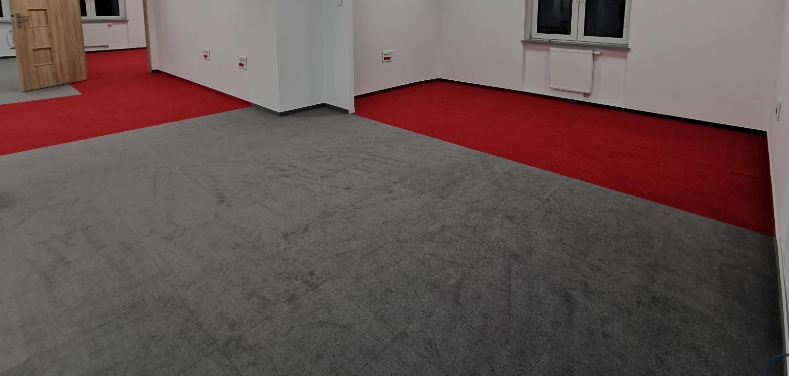 Wykładzina dywanowa w modułach 50x50